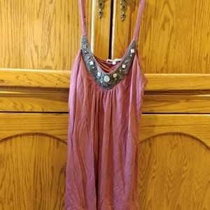 Charlotte Russe Tops - Burgundy red cami / tank top